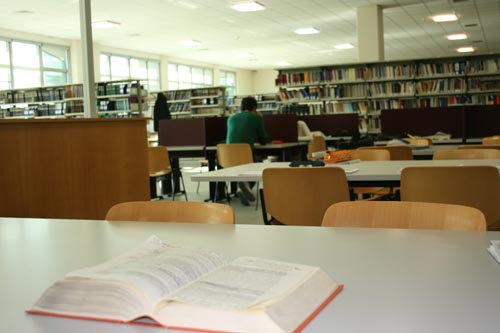 Library at the Coste S. Agostino Campus