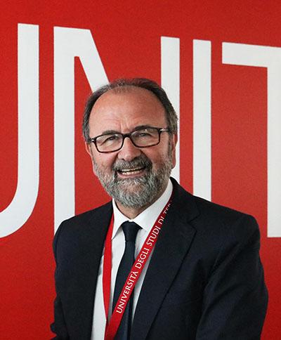 Dino Mastrocola, Rector de la Universidad de Téramo.