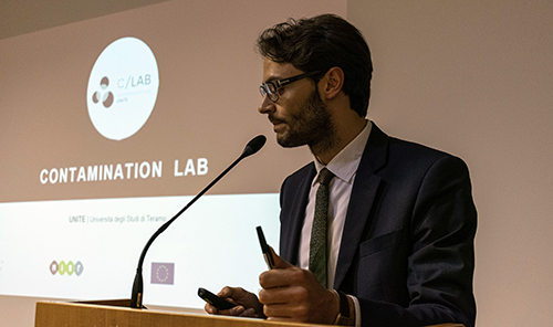 Athos Capriotti, Project Manager di Contamination Lab