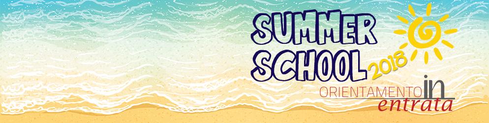 A luglio le Summer School 2018. Iscriviti!