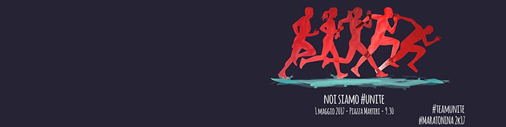 Il team dell'Ateneo alla Maratonina Pretuziana