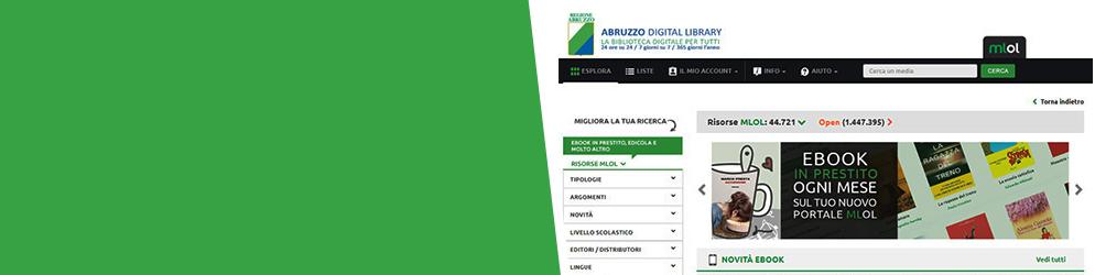 Abruzzo Digital Library: ebook, riviste e quotidiani free per tutta la comunità di UniTe