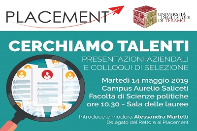 """Locandina evento """"Cerchiamo Talenti"""" - Alleanza Assicurazioni"""