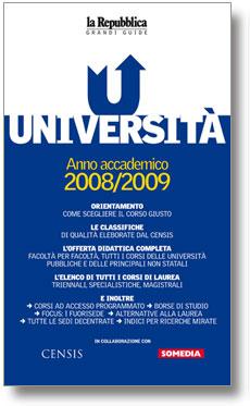 copertina grande guida università