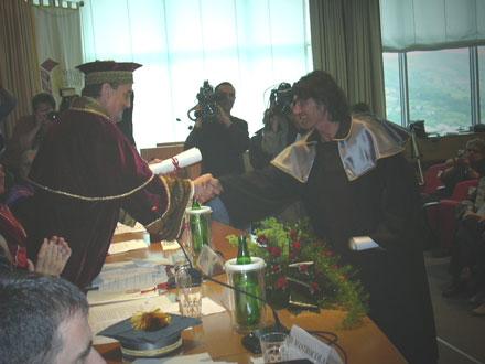 Luciano Ligabue riceve la laurea honoris causa