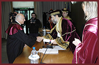 Laurea Honoris Causa a Leonardo Santi