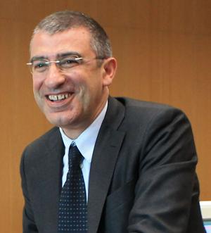 Prof. Luciano D'Amico, Rettore dell'Università degli Studi di Teramo