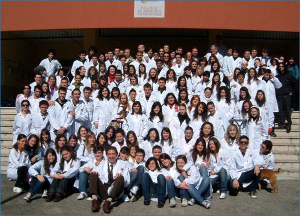 Gli studenti della Facoltà di Medicina veterinaria 2008/2009