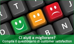 Questionario di customer satisfaction
