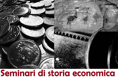A Giurisprudenza il ciclo di seminari di storia economica