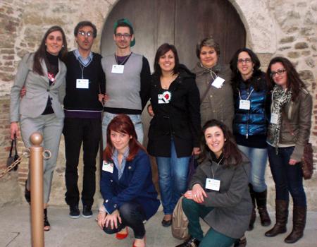 Gli studenti della Facoltà di Scienze della comunicazione