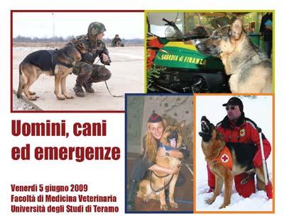 Uomini, cani ed emergenze