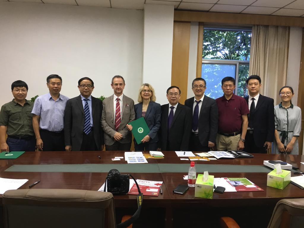 La visita in Cina di Unite
