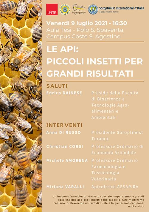 """Seminario """"Le api: piccolo insetti per grandi risultati"""""""