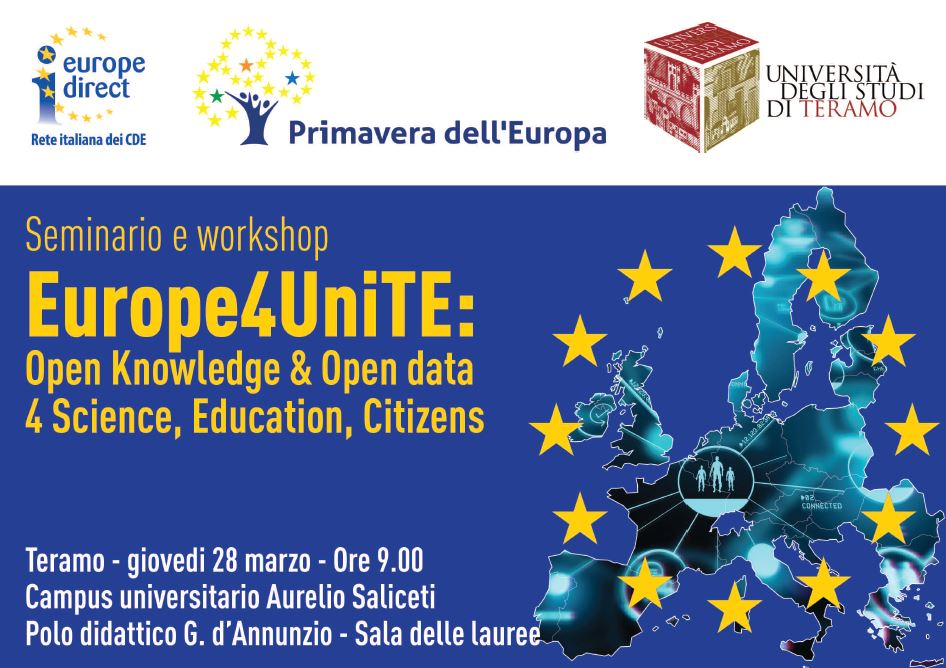 Europe4Unite: Open Knowledge & Open Data 4 Science, Education, Citizens