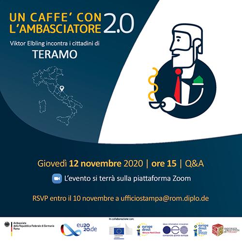 Un caffè con l'Ambasciatore 2.0: Viktor Elbling incontra i cittadini