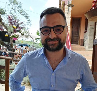 Donato Angelino, ricercatore della Facoltà di Bioscienze