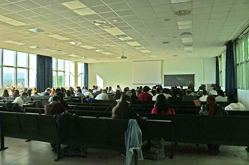 Gli studenti di UniTe in aula
