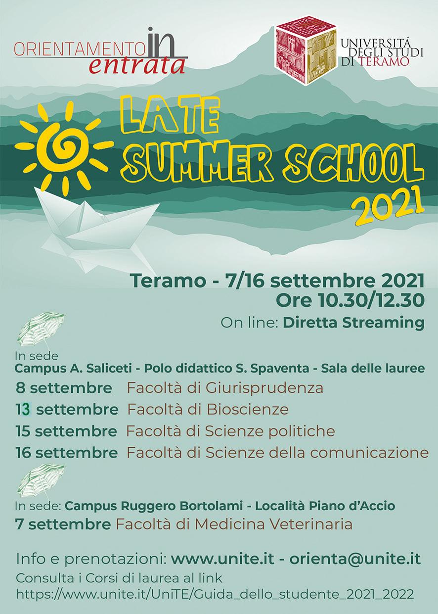 Late summer school
