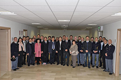 I magistrati di Hubei in visita alla Questura di L'Aquila