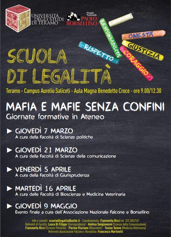 Scuola di legalità 2019
