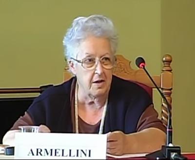 La professoressa Serenella Armellini