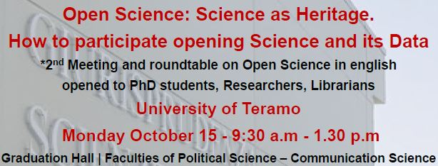 Open Science: Science as Heritage