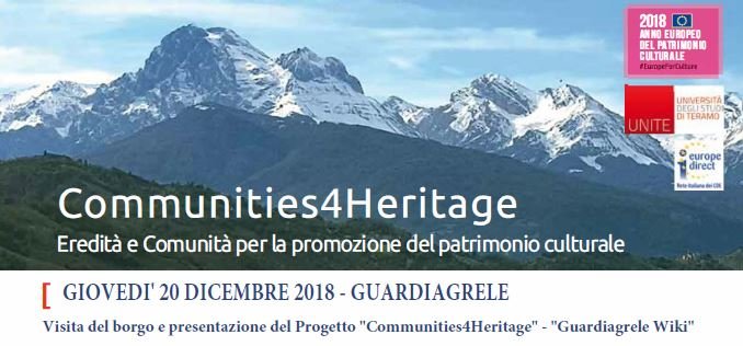 Communities4Heritage - Guardiagrele Wiki