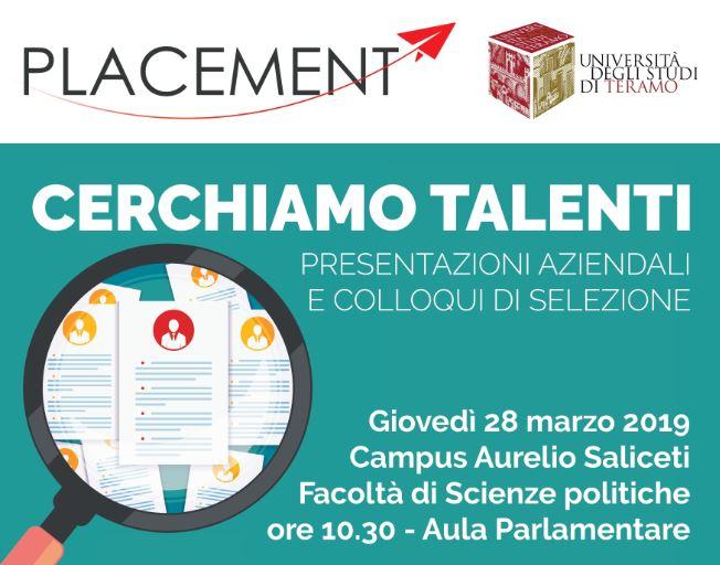 Job Placement - Cerchiamo Talenti