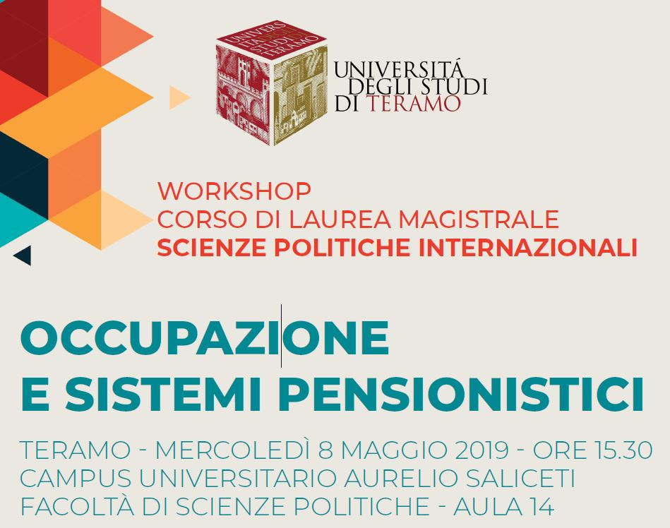"UniTE Workshop ""Occupazione e sistemi pensionistici"""