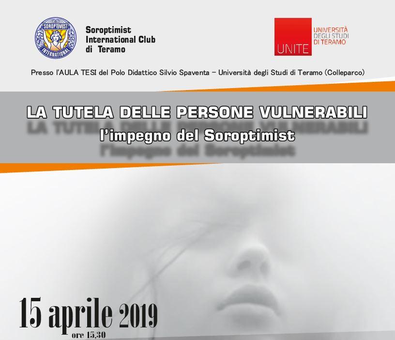 Incontro a UniTE su La Tutela delle persone vulnerabili
