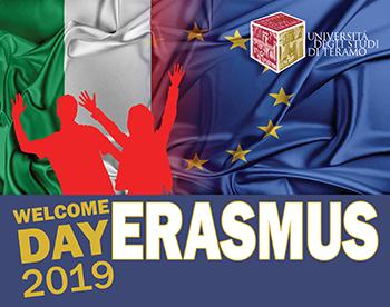 Università Teramo Erasmus Welcome Day 2019