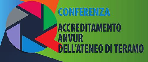 Conferenza sull'accreditamento ANVUR dell'Ateneo di Teramo