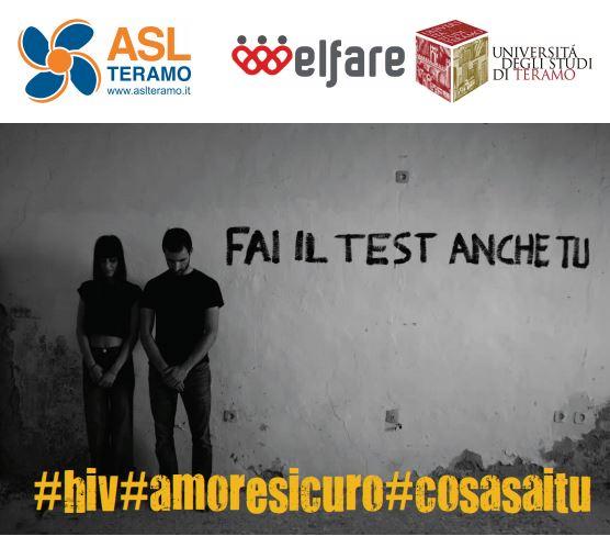 """Progetto """"Fai il test anche tu"""" e mostra fotografica """"#hiv #amoresicuro #cosasaitu"""""""
