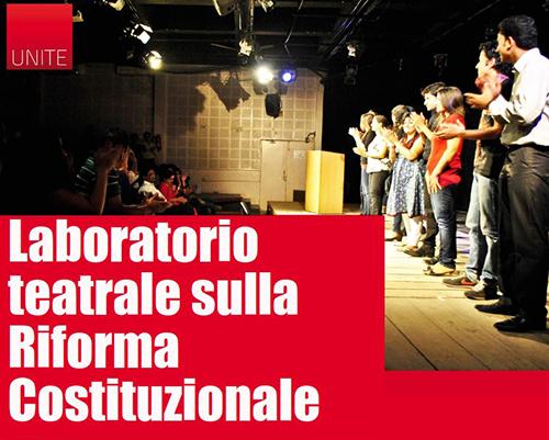 Laboratorio teatrale sulla Riforma Costituzionale