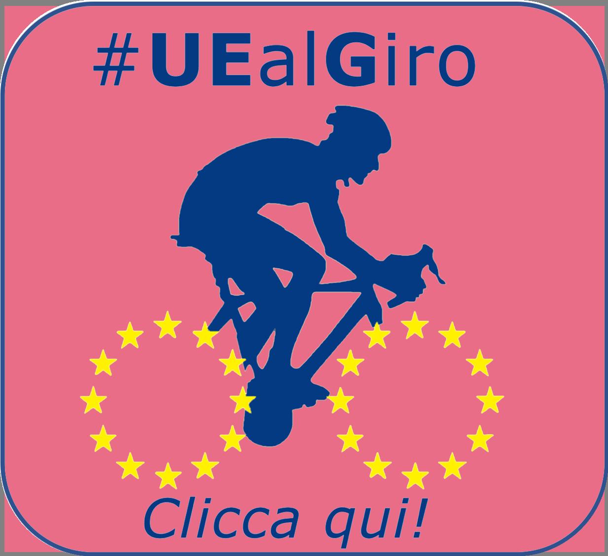 UniTe e #UEalGiro per il Giro d'Italia