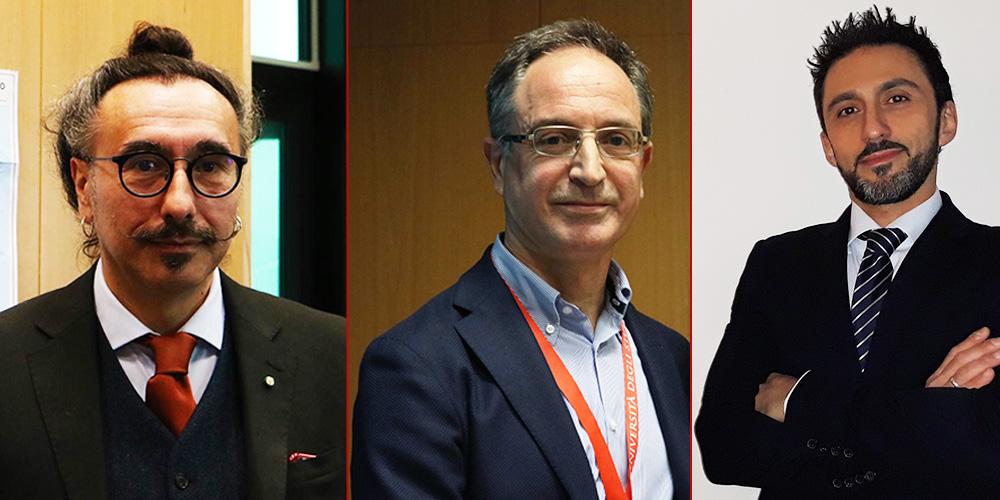 Mauro Serafini, Aldo Corsetti e Donato Traversa