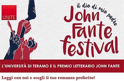 Premio John Fante e Università di Teramo