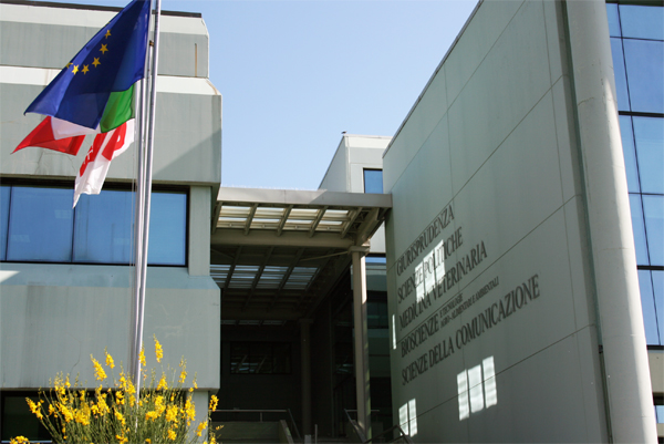 La sede del rettorato dell'Università degli Studi di Teramo