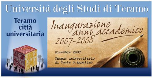 Inaugurazione anno accademico 2007/2008