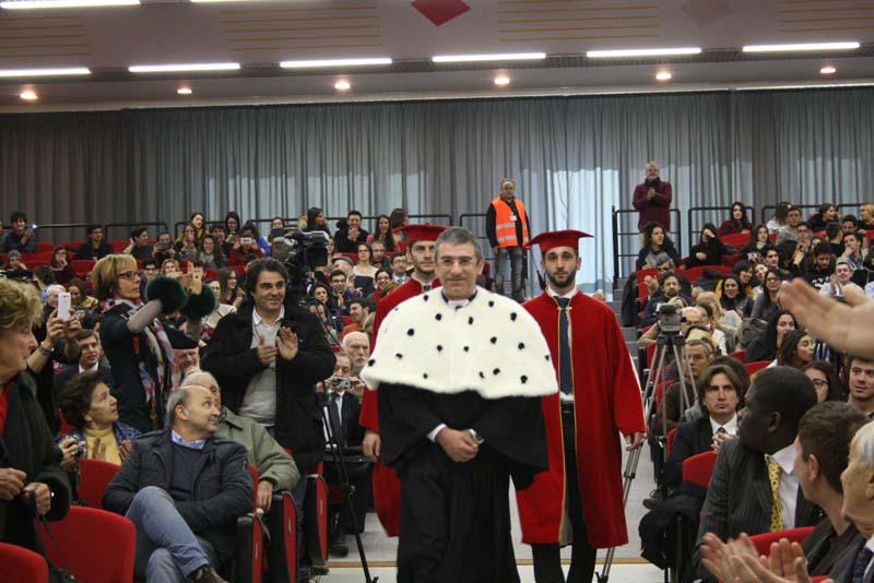 Laurea Honoris causa a Marco Pannella