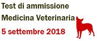 Test di ammissione  Medicina veterinaria 2018