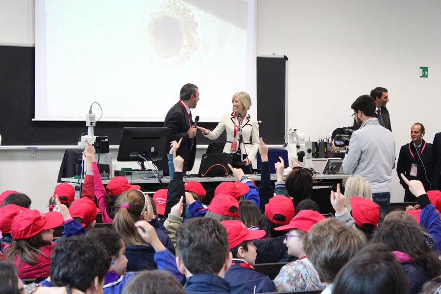 Visita del Ministro della Pubblica Istruzione Giannini