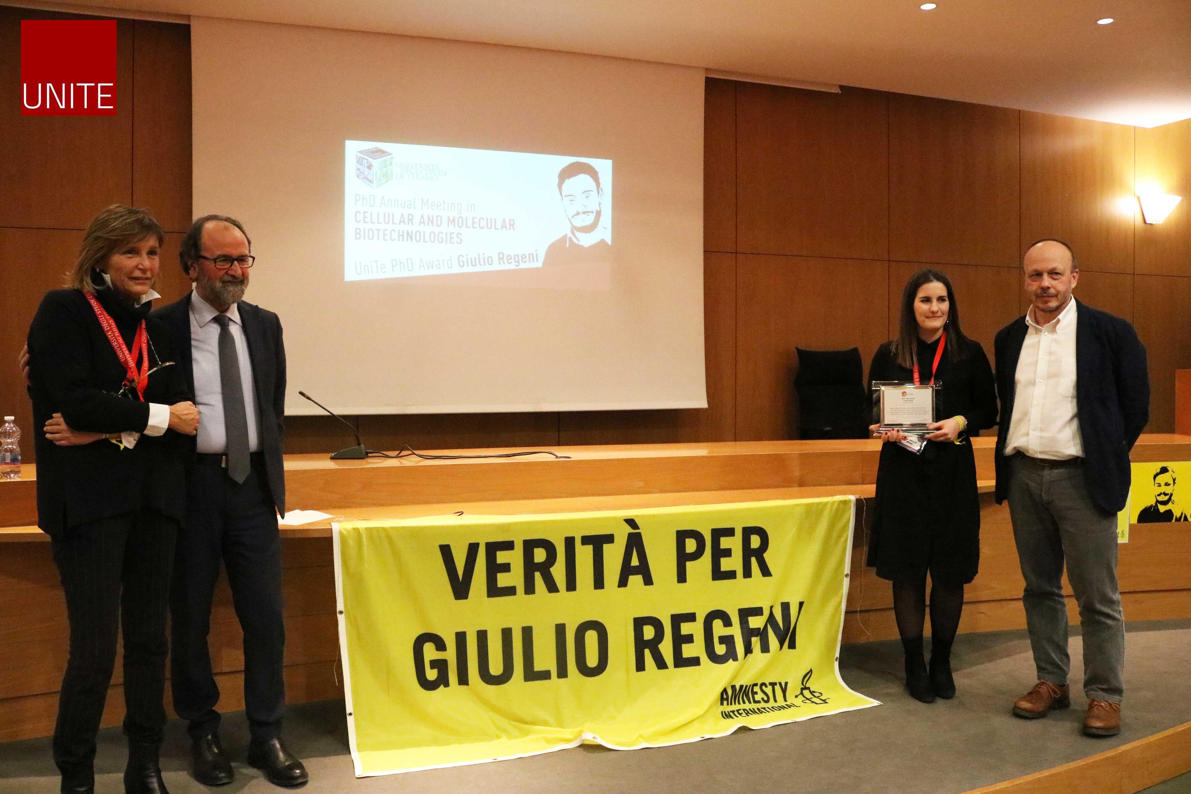 """UniTe PhD Award """"Giulio Regeni"""""""