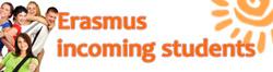 Erasmus incoming students