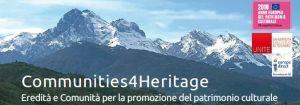 Communities4Heritage per il patrimonio culturale: Workshop e Tavola rotonda