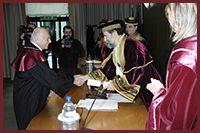 Laurea Honoris Causa a Leonardo Santi