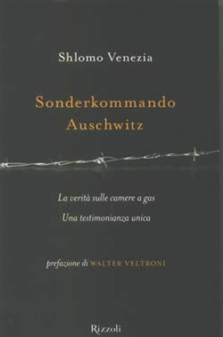 "La copertina del libro ""Sonderkommando Auschwitz"""