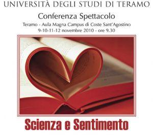 Conferenza spettacolo Scienza e Sentimento