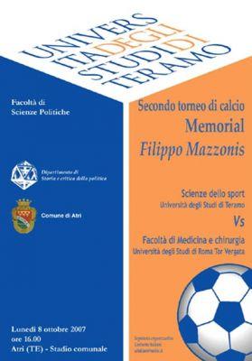 Memorial Filippo Mazzonis